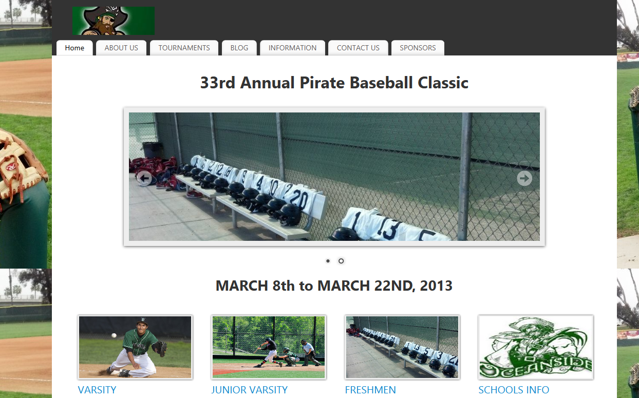 Pirate Baseball Classic