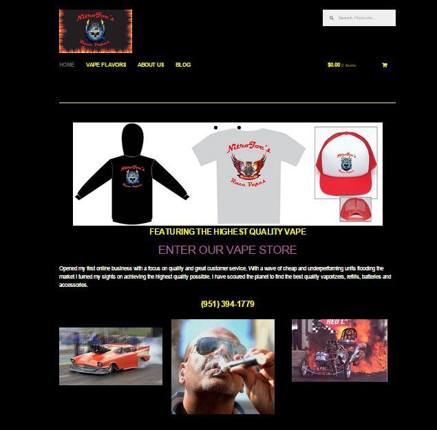 Nitro Joes Race Vapes